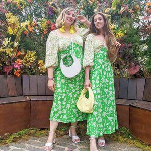 RIXO x Target Daisy Floral Long Sleeve Dress